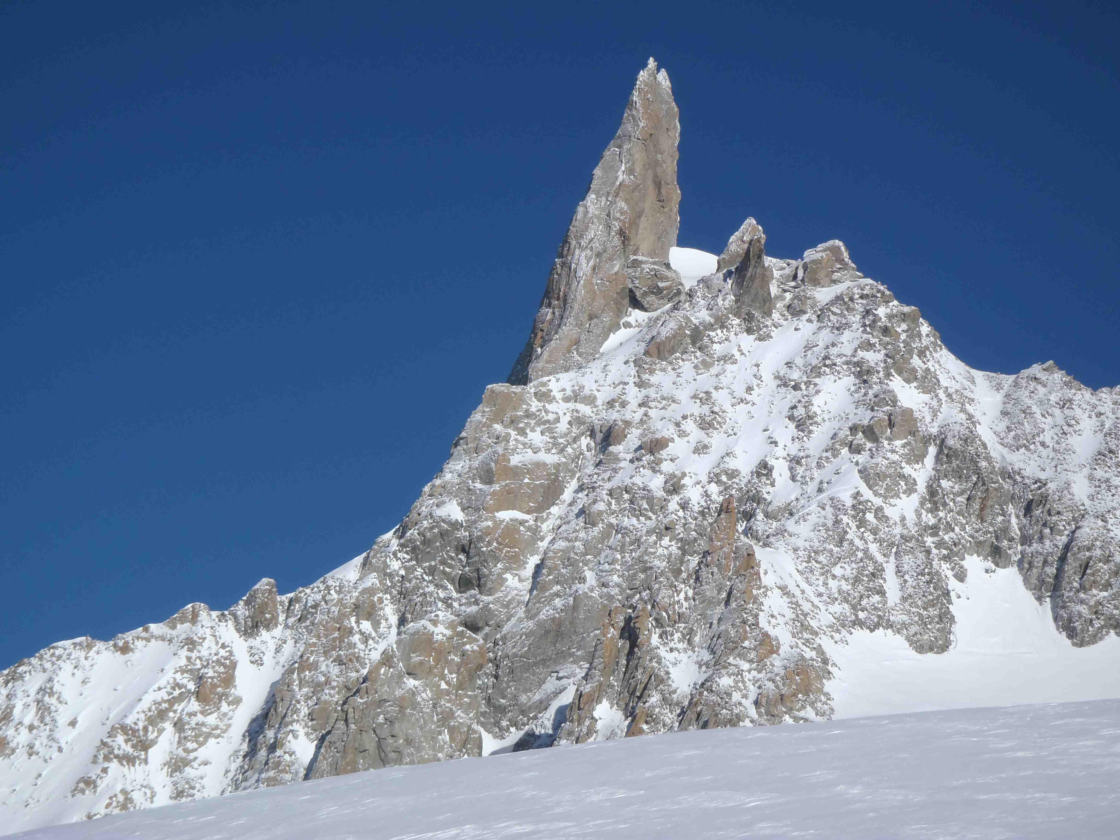 Glacier de toule vallée noire