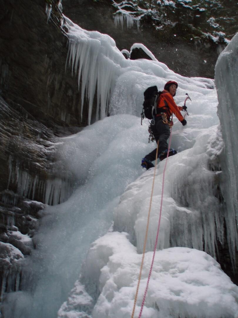 cascade de glace avoriaz