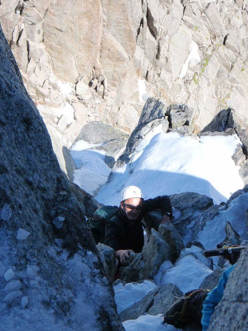 La petite aiguille verte - Premiers pas en haute montagne