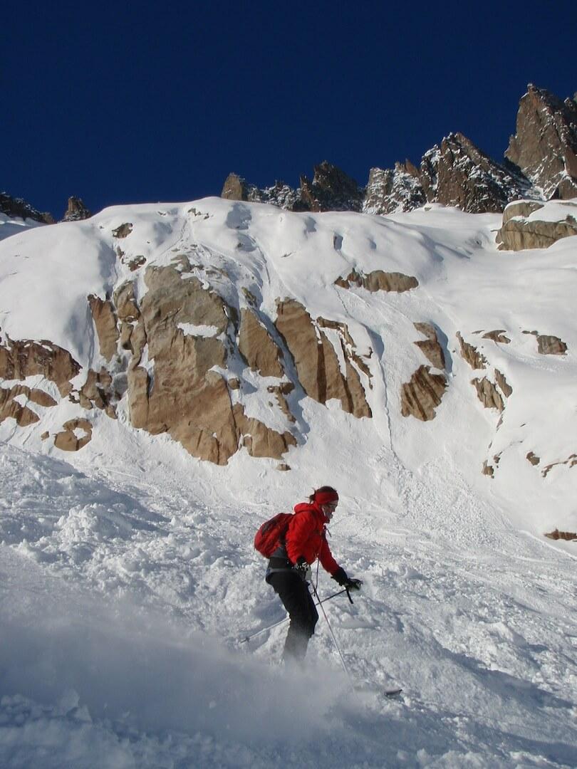 La Vallée Blanche - le ski grand format