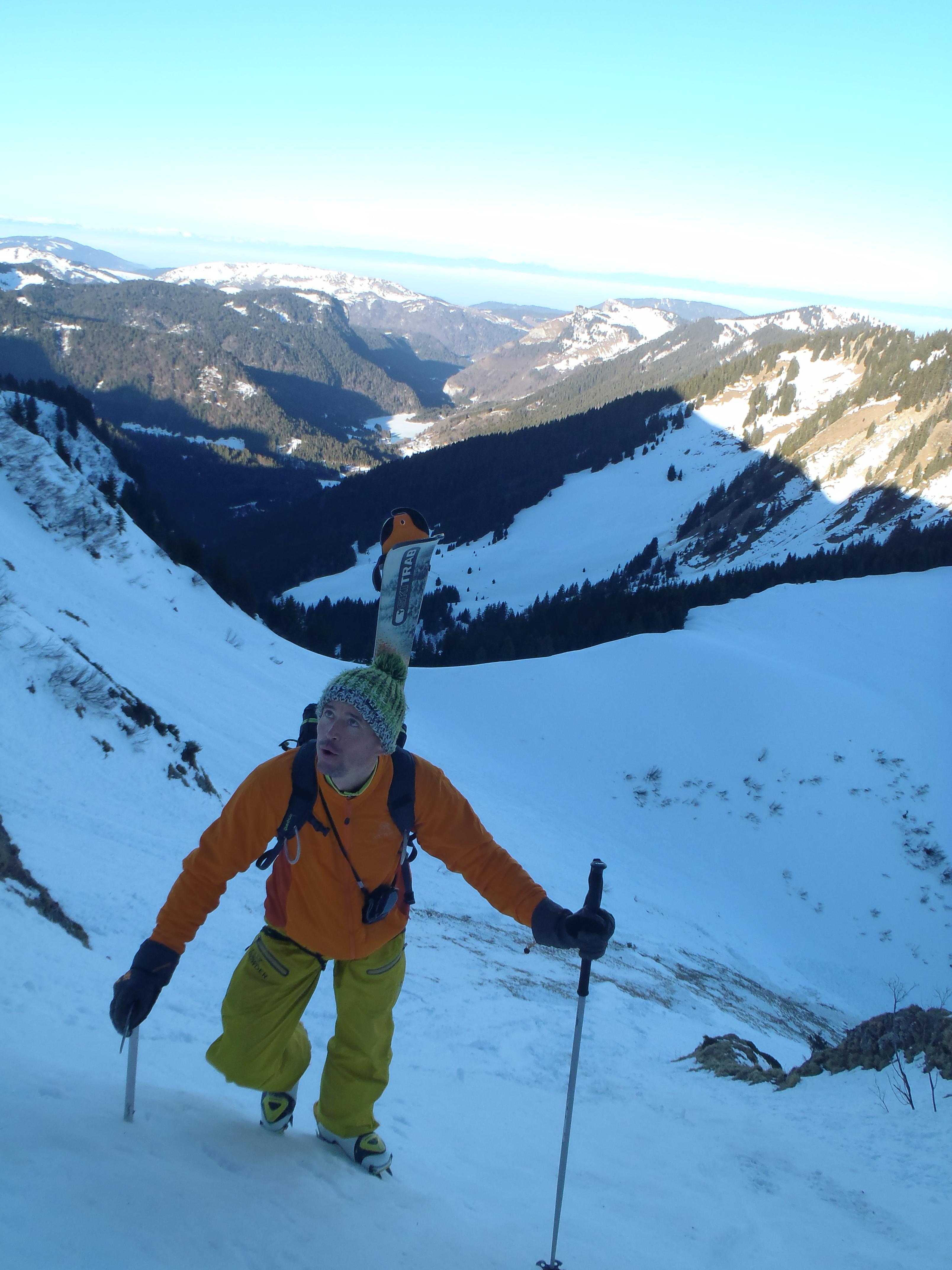 20140112 alpinisme traversée du roc d'enfer 1