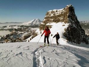 ski de randonnée à avoriaz