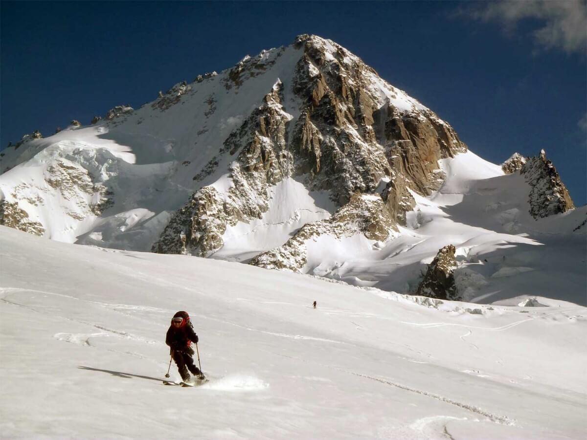guide ski alpinisme chamonix glacier