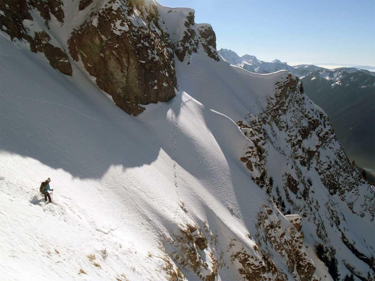 guide ski de pentes raides morzine