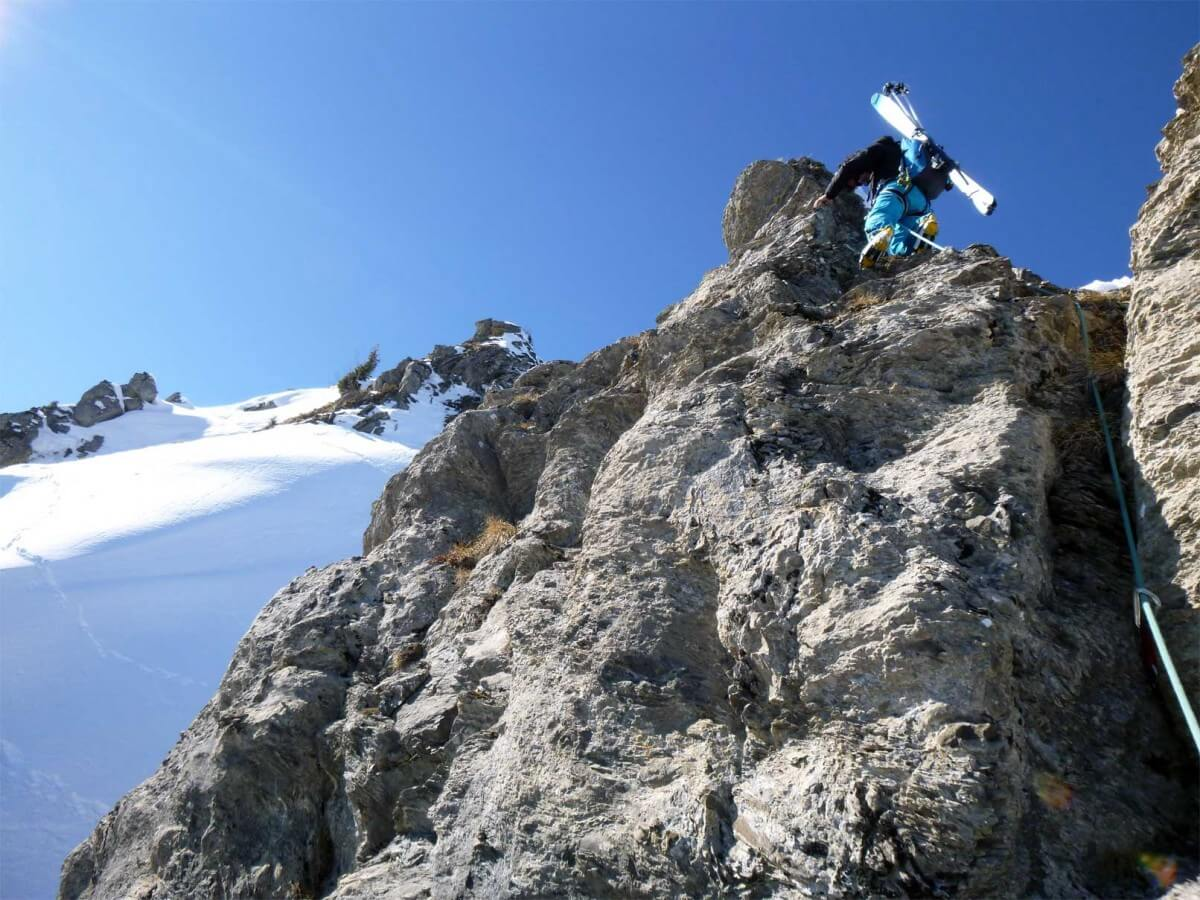guide ski-alpinisme à morzine