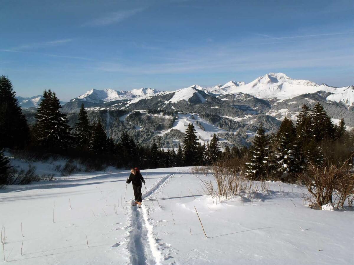 guides ski de randonnée à avoriaz