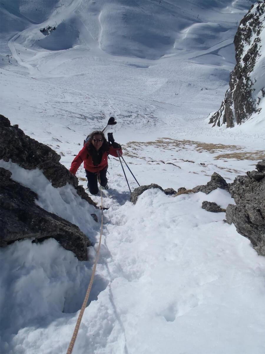 ski-alpinisme pointe de vorlaz