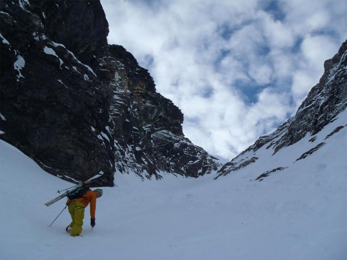 ski-alpinisme traversée des tranchant à ressachaux