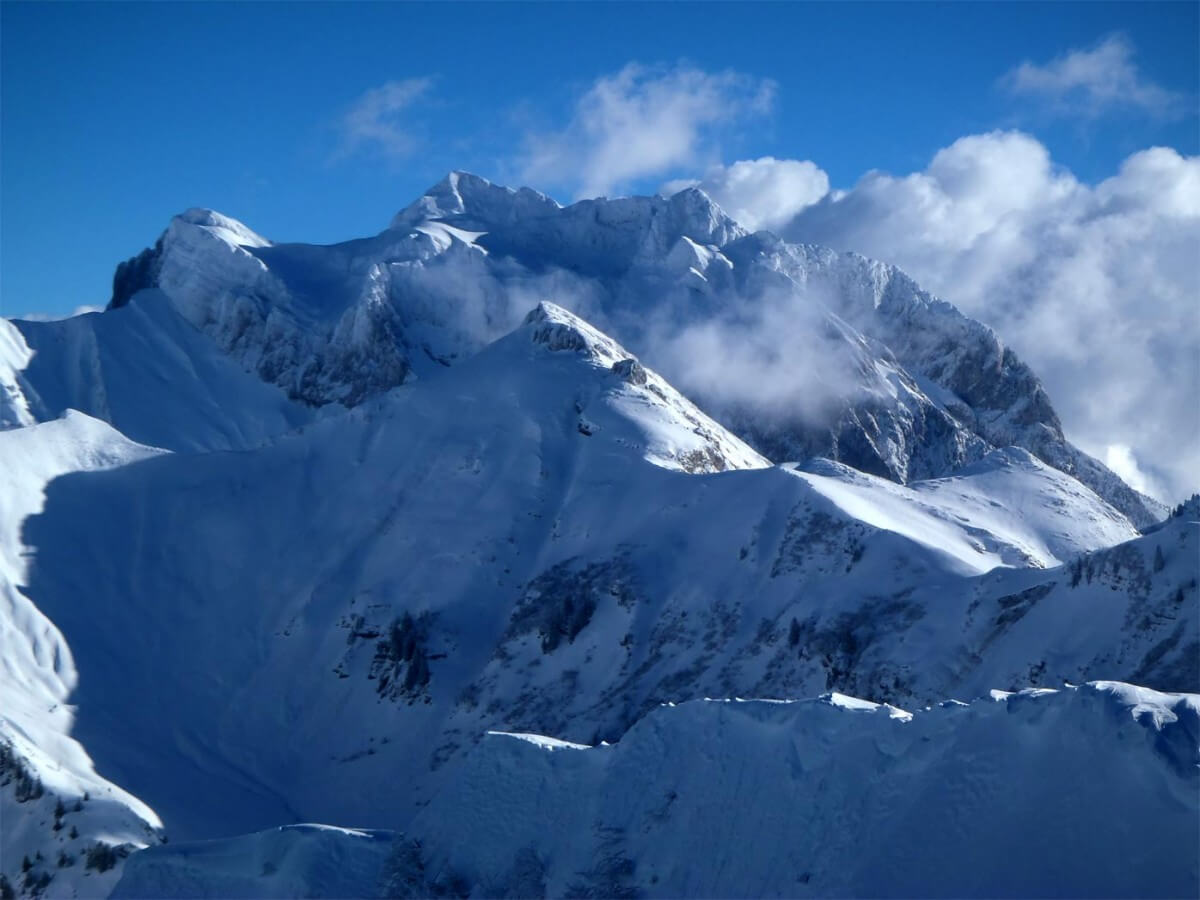 raid à ski Morzine