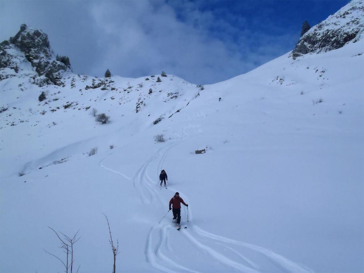 raid à ski entre Léman et Mont blanc