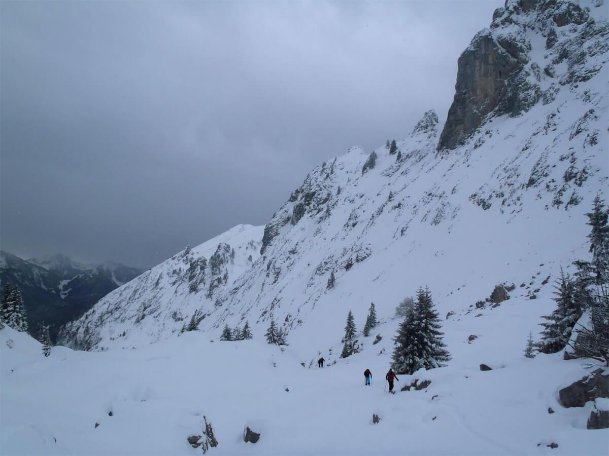 ski de randonnée guide morzine