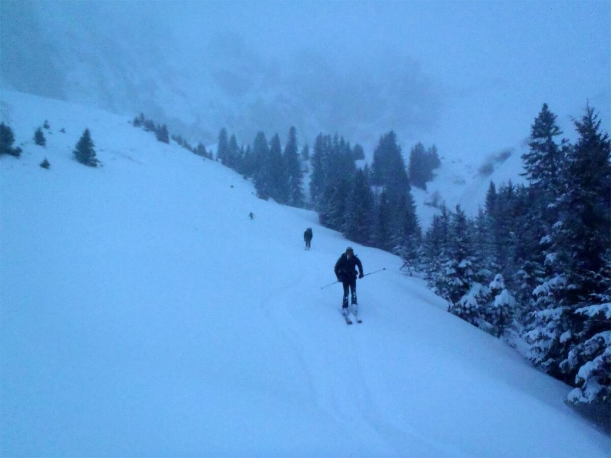 raid à ski avoriaz