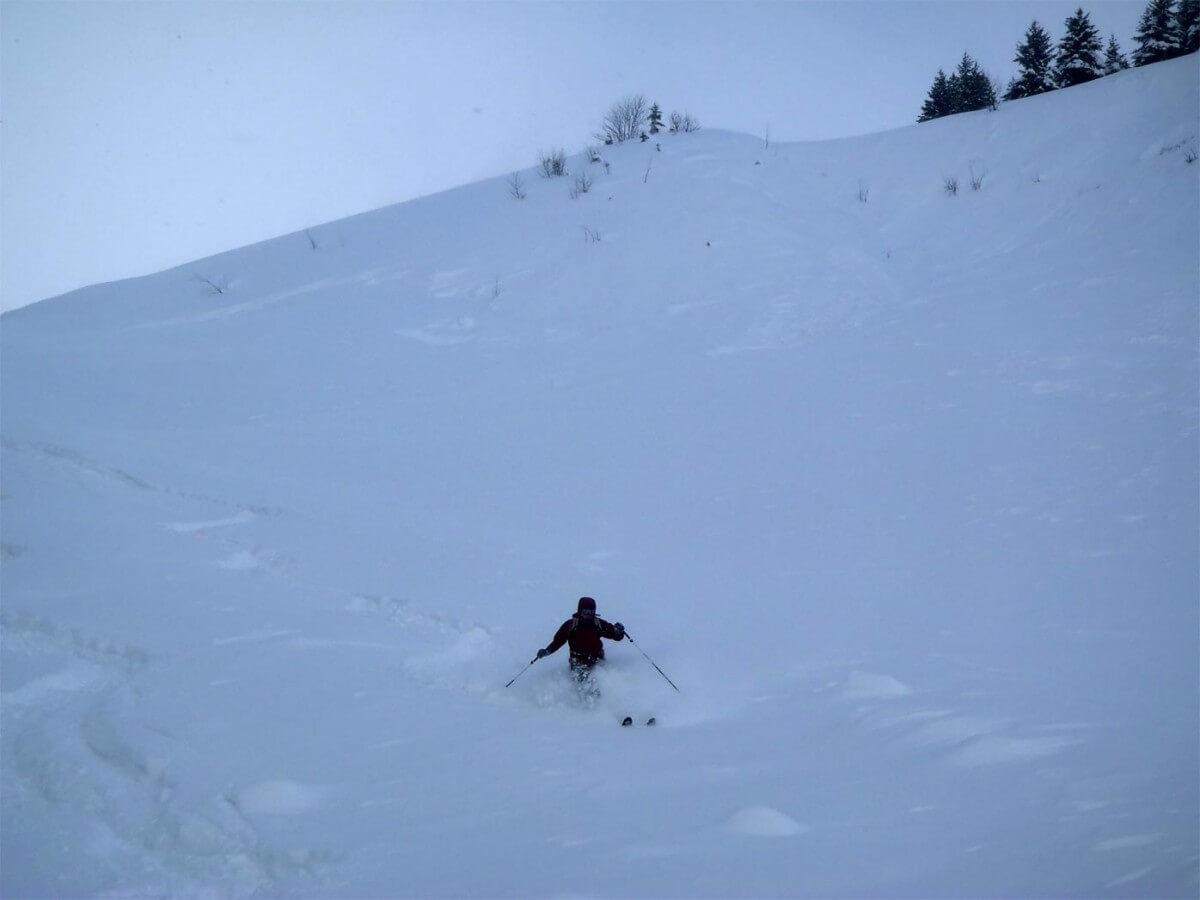 ski de rando guides Morzine