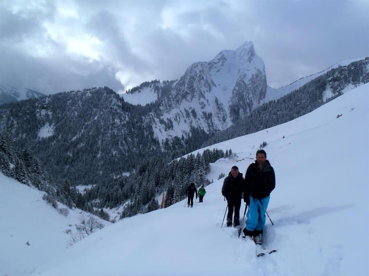 ski de randonnée Morzine guide