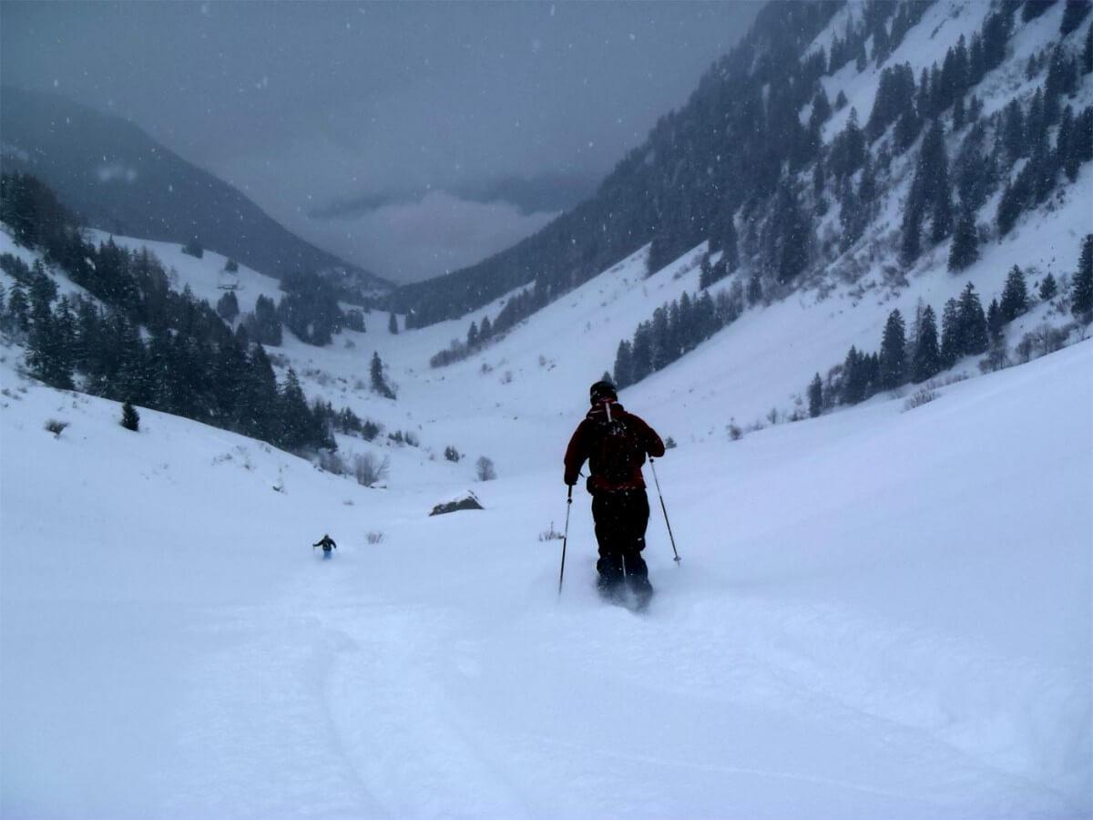 raid à ski en Chablais