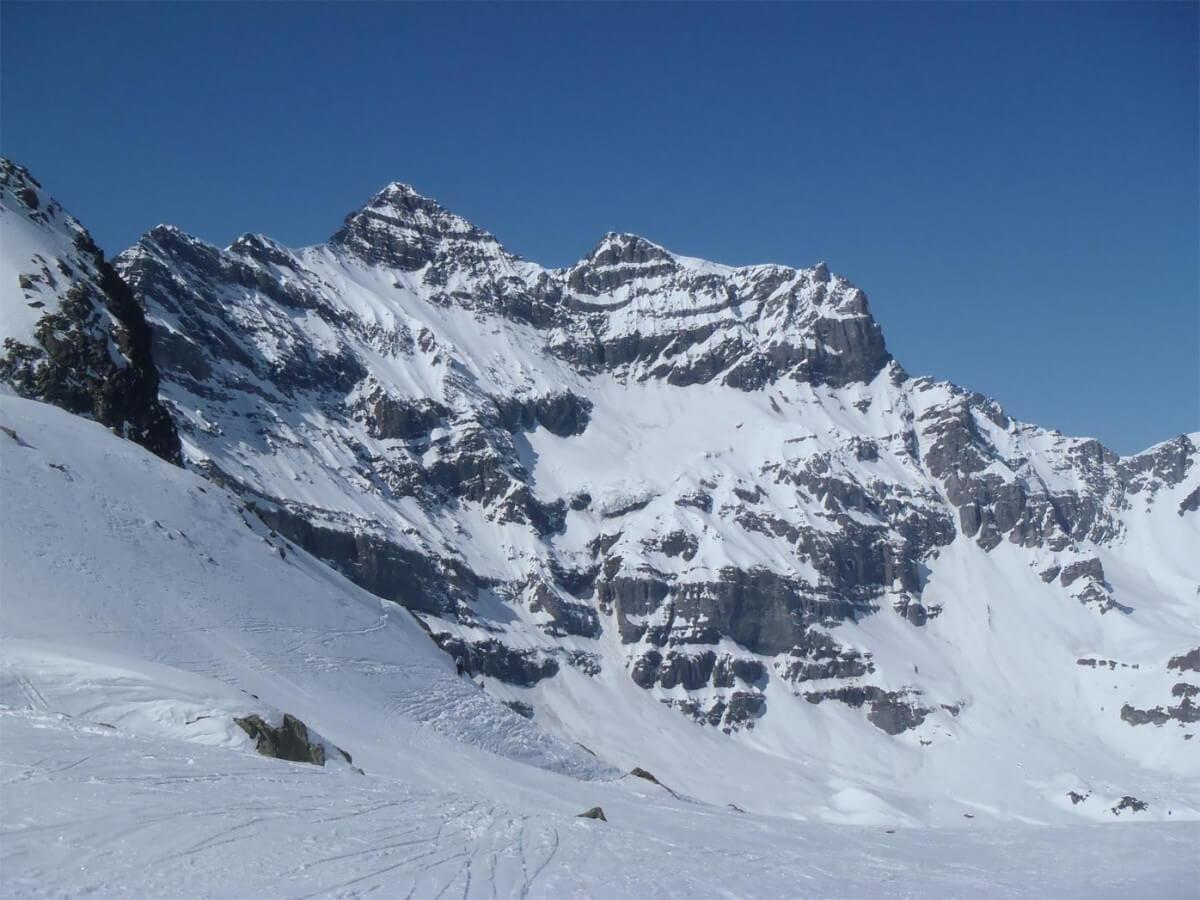 ski-alpinisme dans les dents du midi
