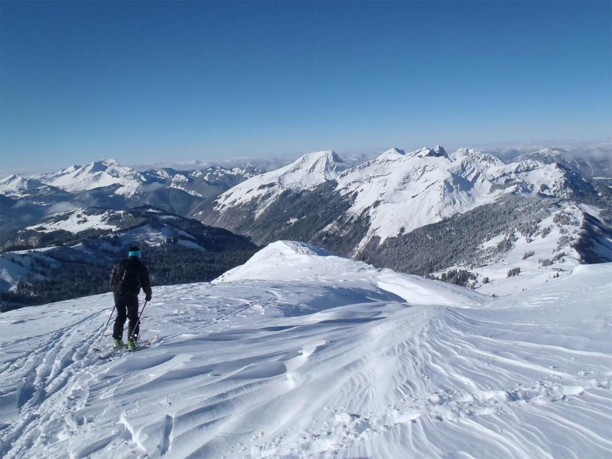 guides ski de rando à Avoriaz