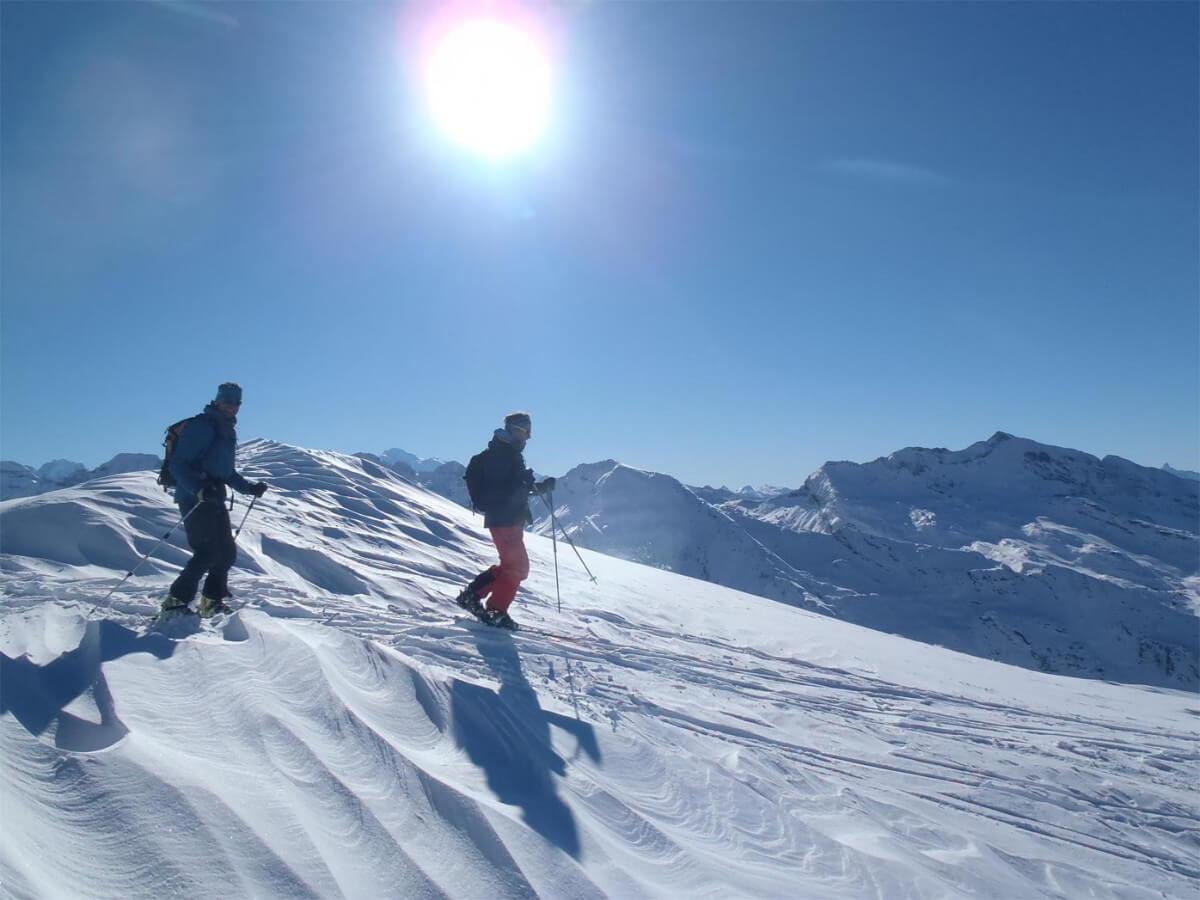 guide ski de randonnée à Avoriaz