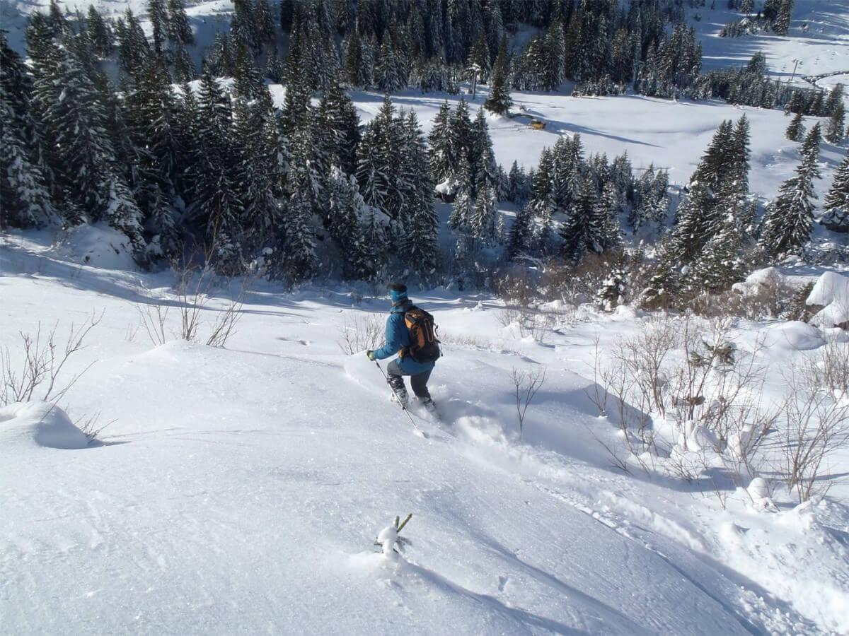 guide ski de rando à Avoriaz