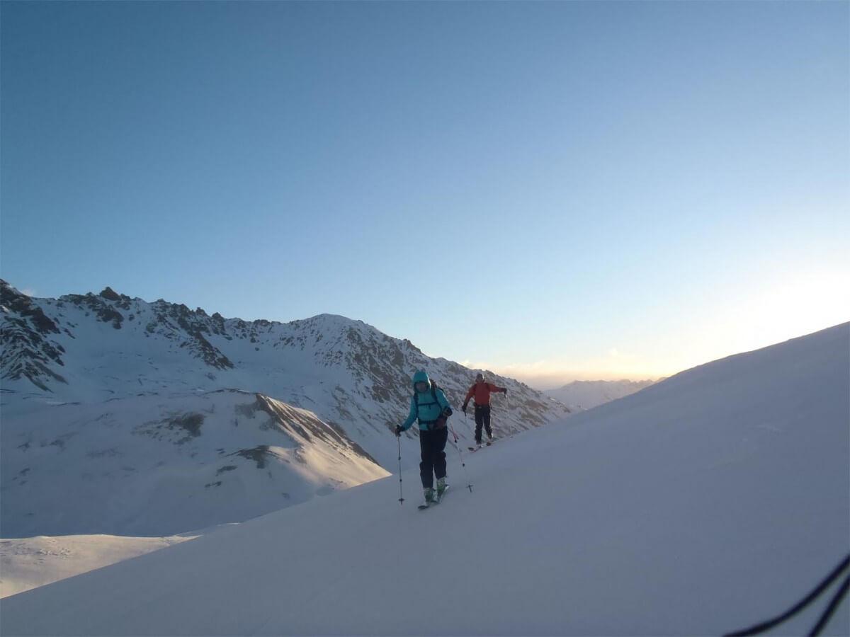 raid à ski dans les écrins