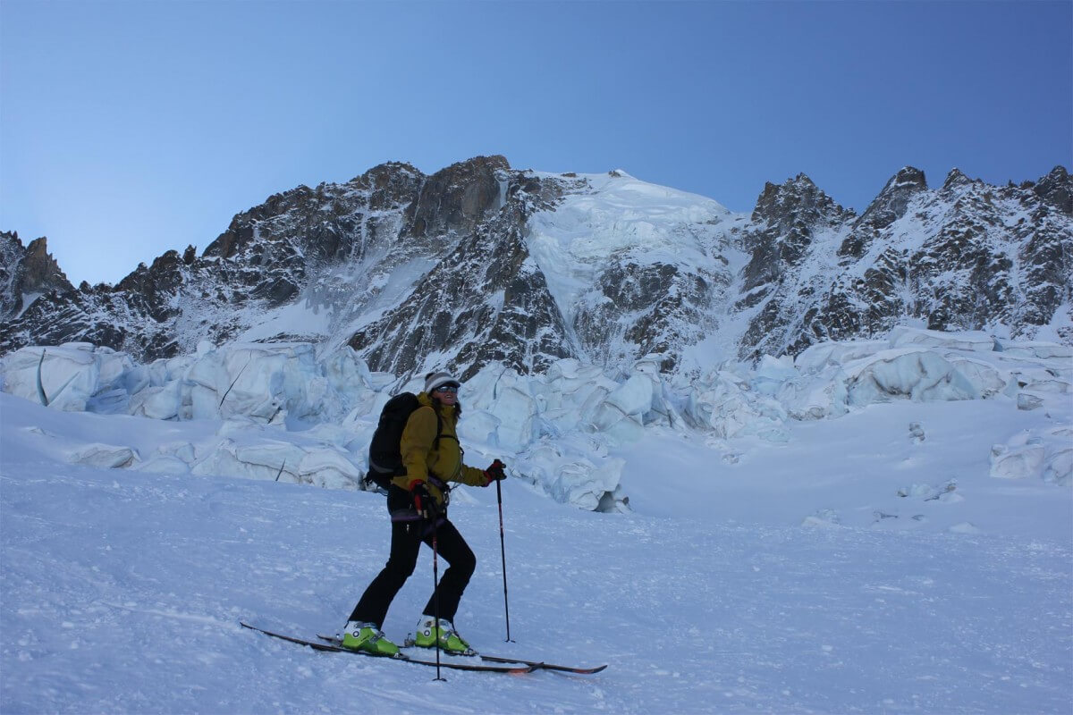 ski de rando chamonix