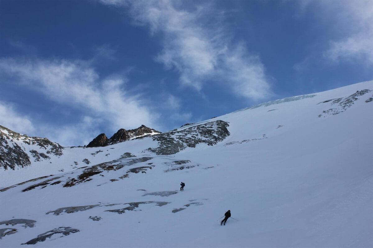 ski de randonnée Glacier du midi des grands