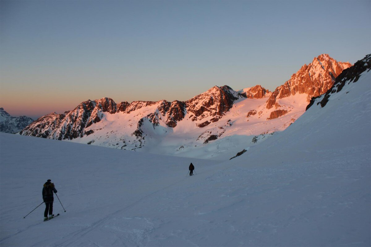 ski de randonnée avoriaz