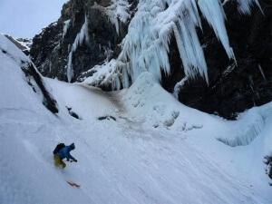 ski-alpinisme au grand Ruan sud ouest