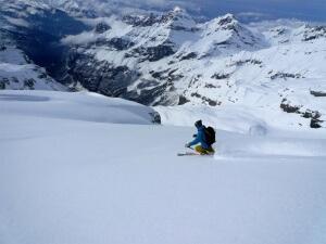 ski-alpinisme au grand Ruan