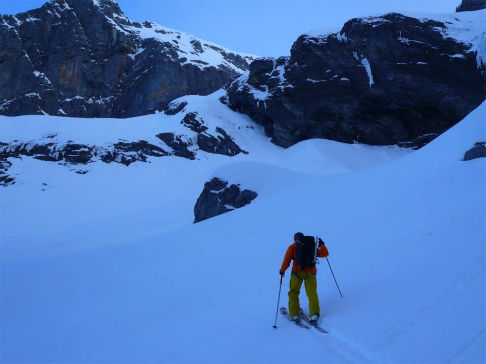 ski-alpinisme au mont ruan