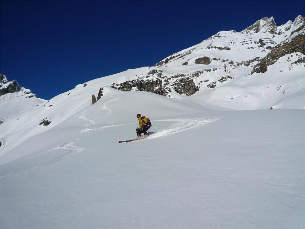 ski de rando dents du midi