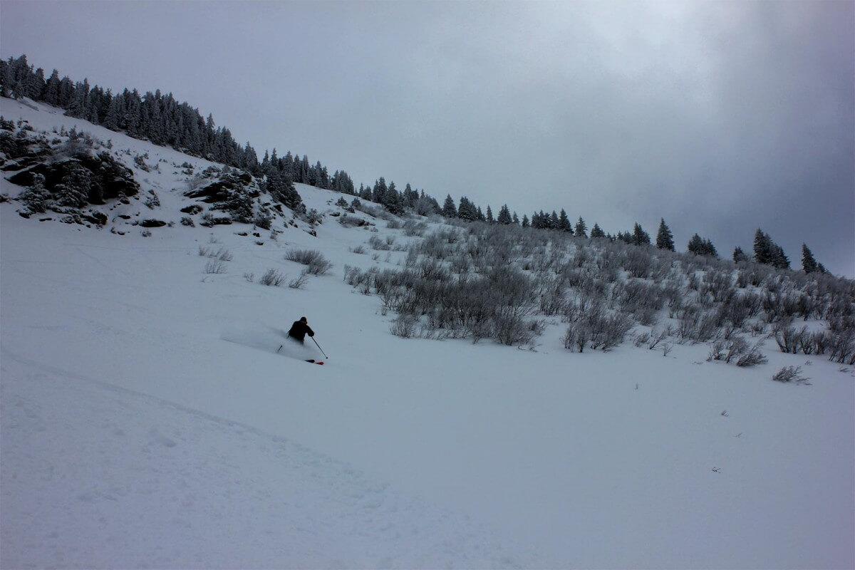 off piste skiing morzine