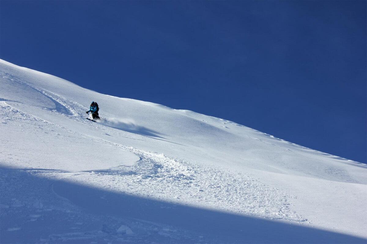 ski touring avoriaz