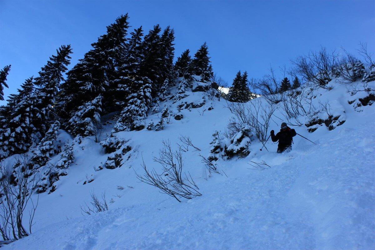 ski de randonnée tavaneuse nord est