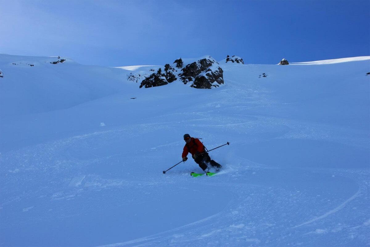 ski rando Tavaneuse