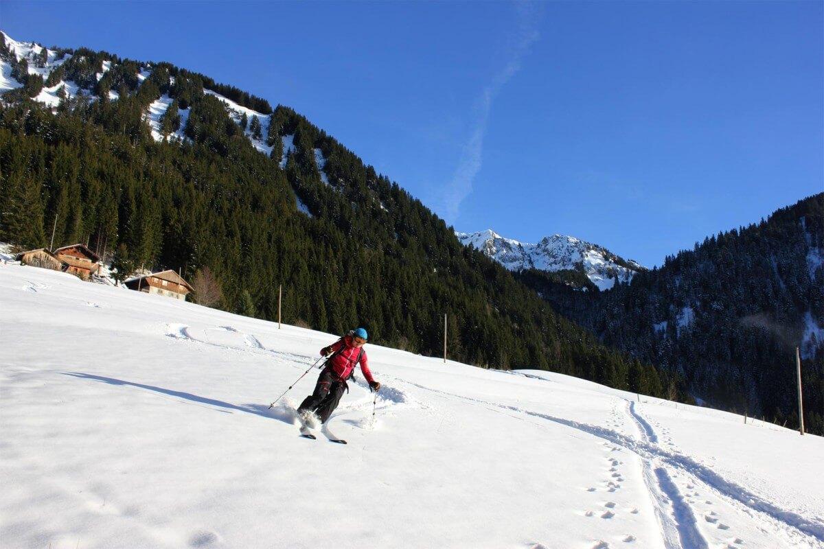 ski de rando Saint jean d'aulps
