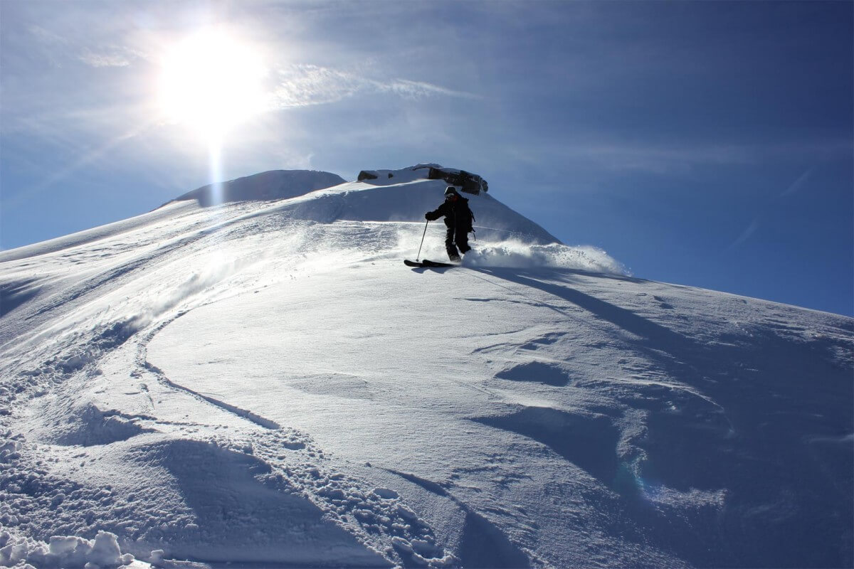 ski de randonnée morzine