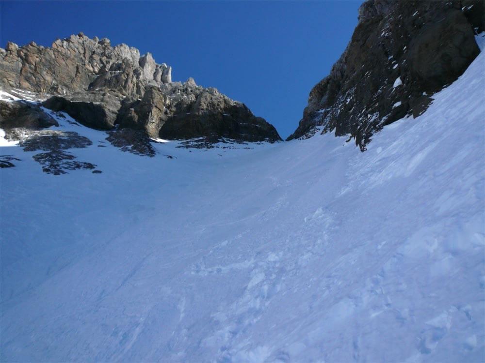 alpinisme à la dent jaune