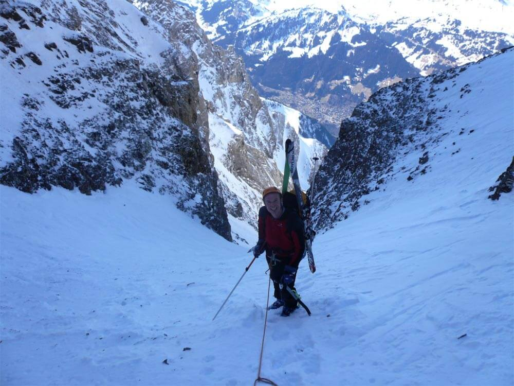 guide couloir de la dent jaune