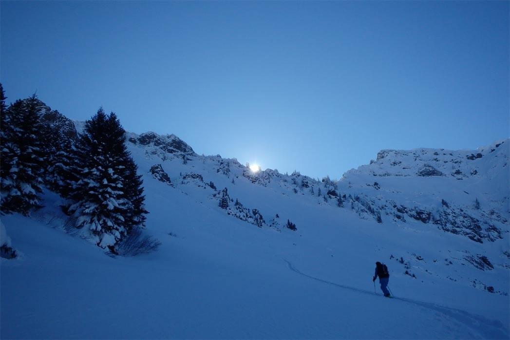 ski de rando à saint jean d'aulps