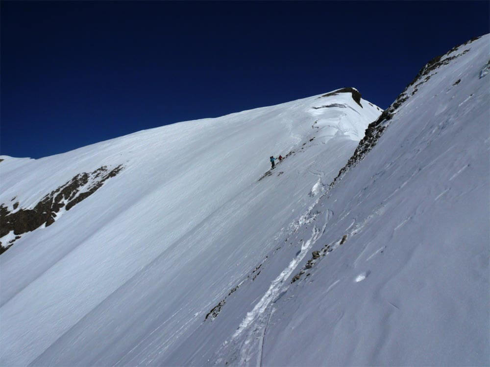 descente vers la montagne de Sagerou