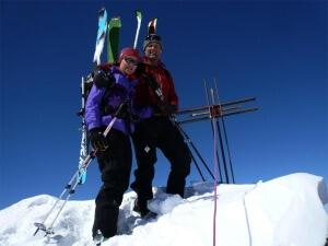 raid à ski Haute Cime