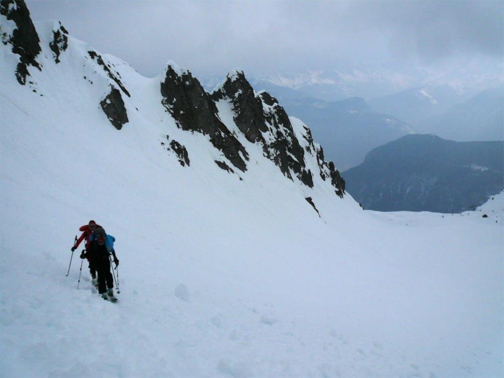 ski de randonnée les marécottes