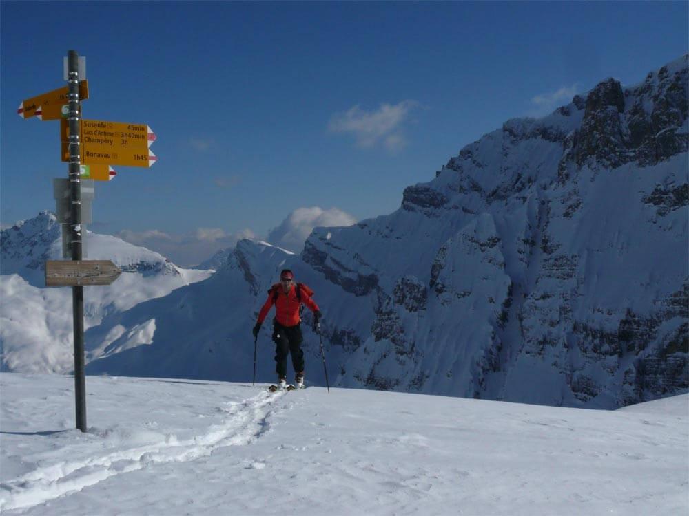 ski de rando col de Susanfe