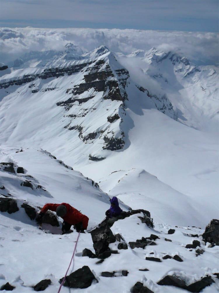 derniers mètres avant le sommet