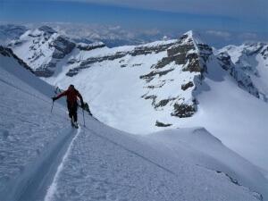 raid à ski tour Sallière