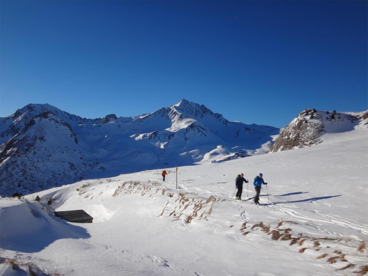 montée au mont Coin versant sud-ouest