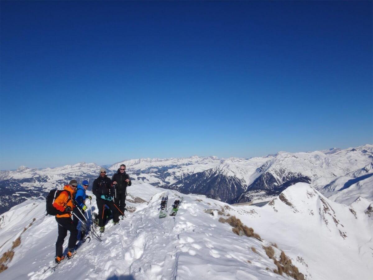 sommet du mont Coin