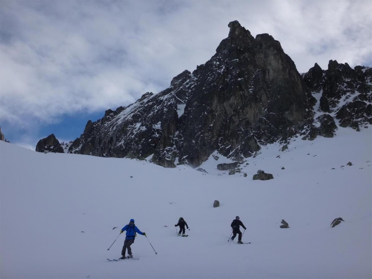descente du col du Brésson
