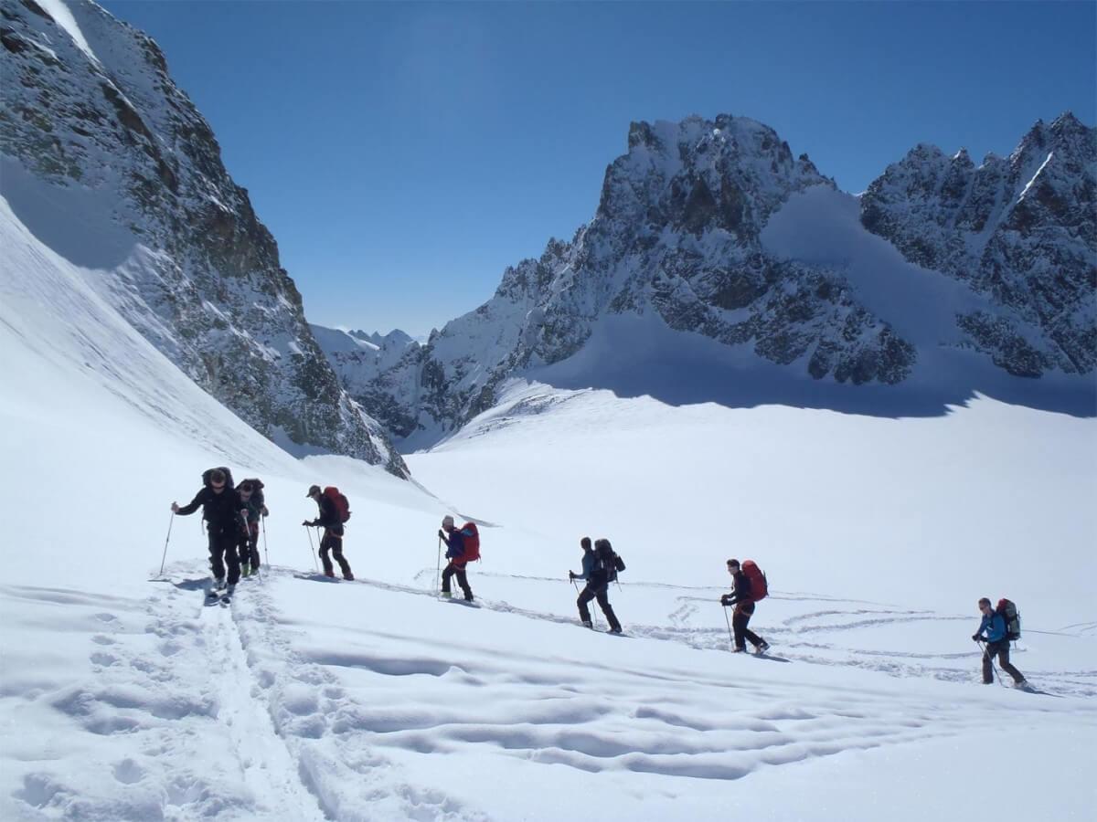 montée à Tête Blanche, Cham-Zermatt, Valais